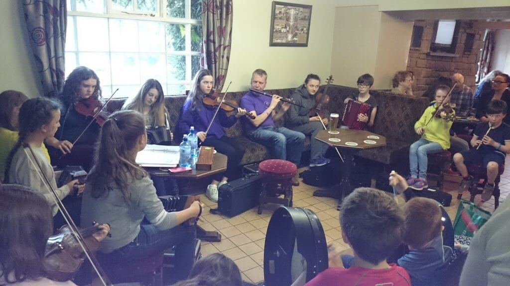 Slow Session in Duffy's Four Ways, Kilmovee