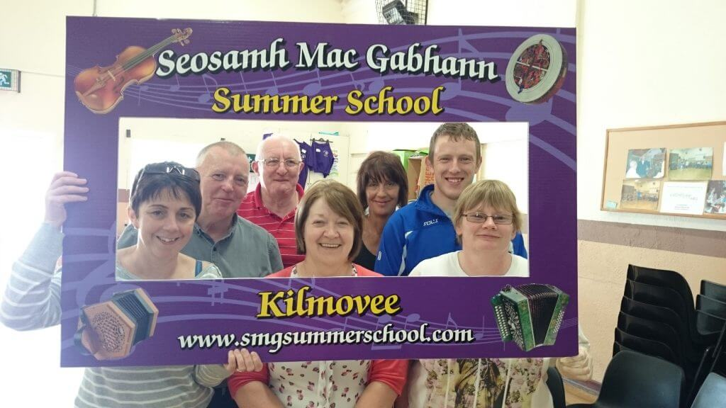 Some of the Staff from Kilmovee Community Centre who helped out during the week